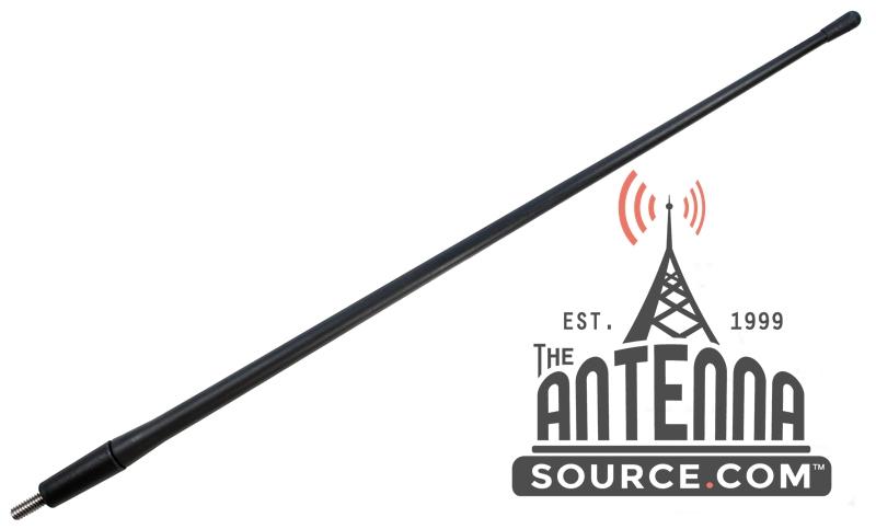 "1996-2017 Toyota 4-Runner 8/"" Black Stainless AM FM Antenna Mast FITS"